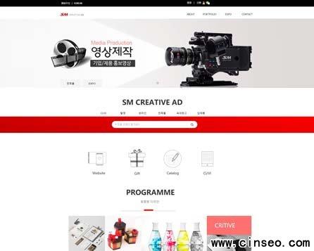 文化公司网站建设案例 简体中文