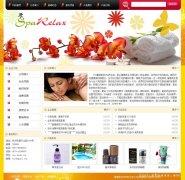 鲅鱼圈SPA馆网站建设|美容院网站制作|养身会馆网页设计|低价快速